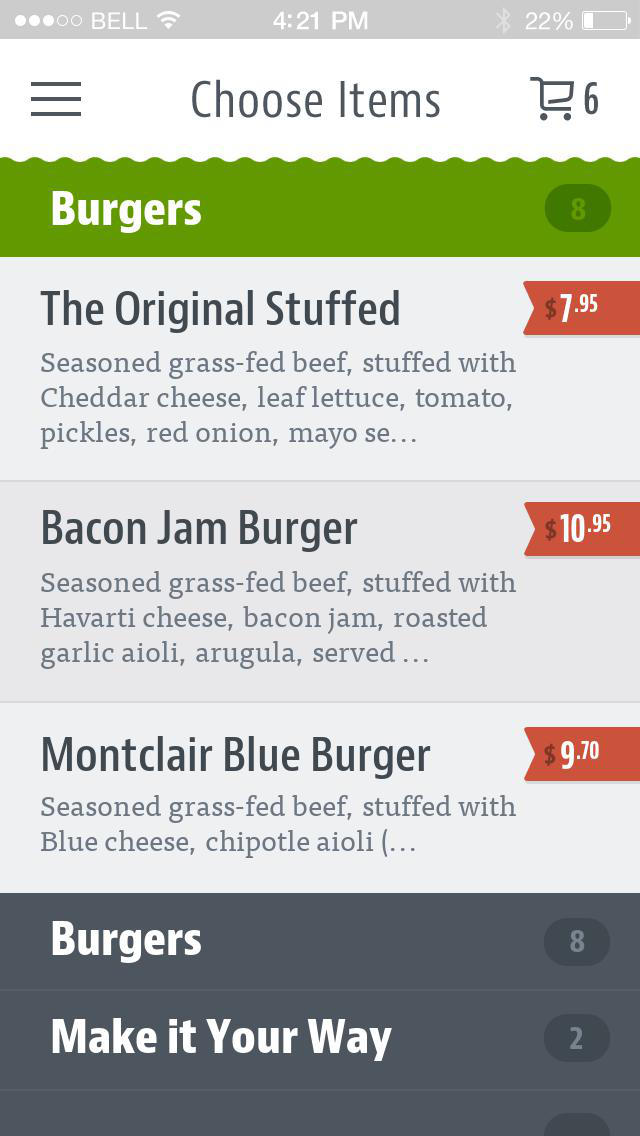 Stuffed Burgers screenshot 3