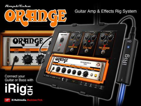 AmpliTube Orange for iPad screenshot 2