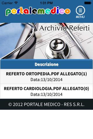 Portale Medico - náhled