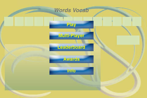 Words Vocab - náhled