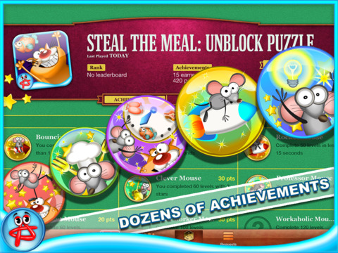 Steal the Meal: Unblock Puzzle screenshot 7