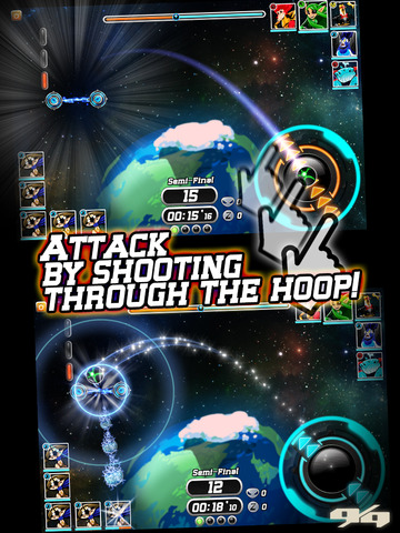 Galaxy Jam: Space Basketball Wars screenshot 7