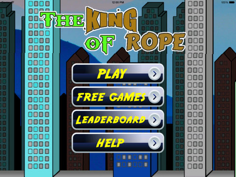 The King Of Rope PRO - Fly, Jump and Run in The Asia City screenshot 6