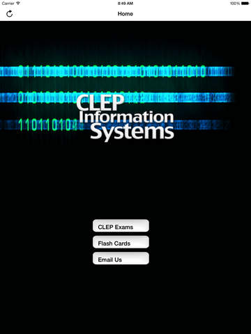 CLEP Information Systems Buddy screenshot 7