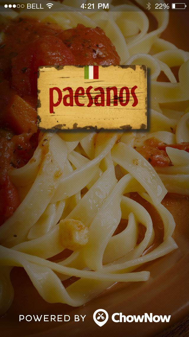 Paesanos screenshot 1