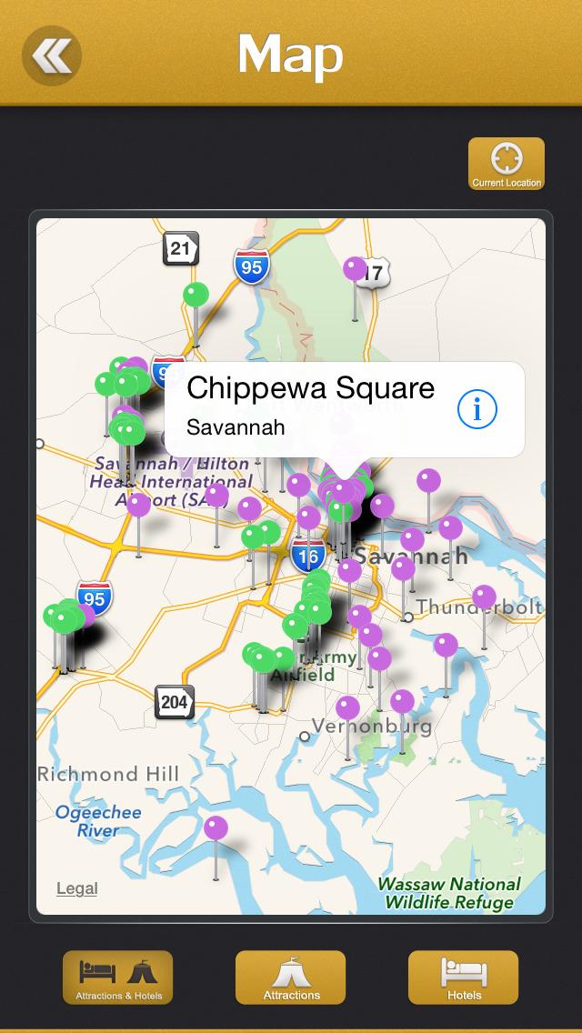 Savannah Tourism Guide screenshot 4