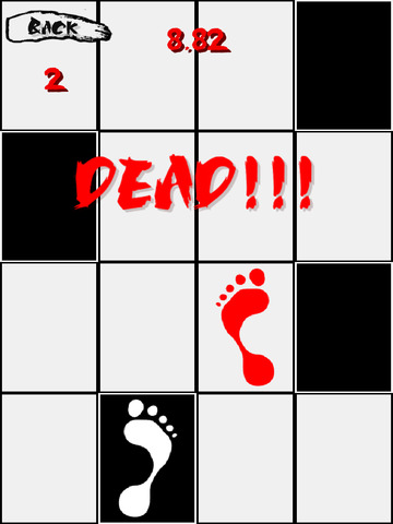 Don't step on the white block screenshot #2