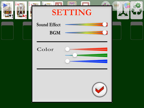 Touch Solitaire FVD screenshot 8