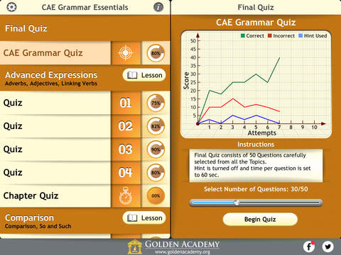 English Certified : CAE Grammar Essentials screenshot 7