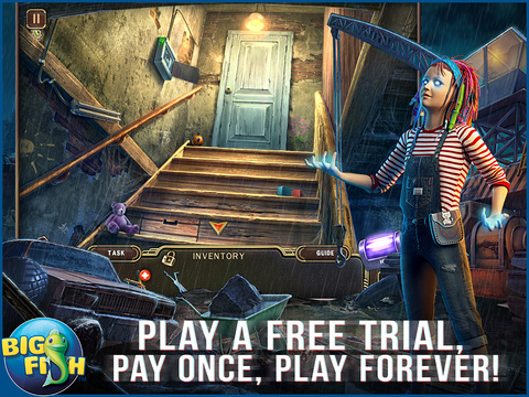 Paranormal Pursuit: The Gifted One HD - A Hidden Object Adventure screenshot 1