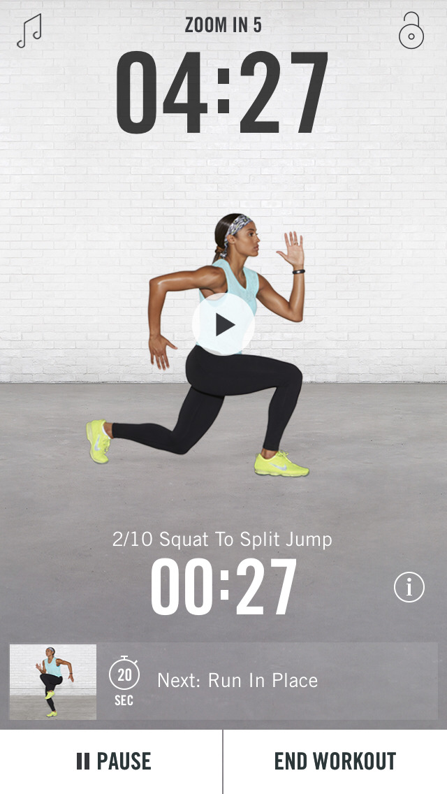 Nike Training Club screenshot 1
