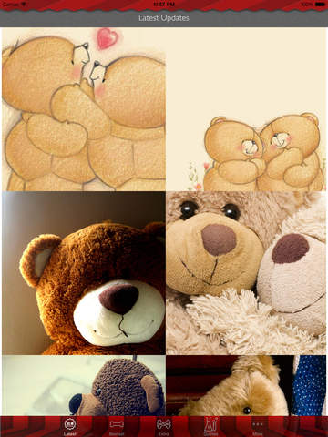 Teddy Bear Art Theme HD Wallpaper and Best Inspirational Quotes Backgrounds Creator screenshot 6