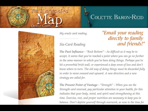 The Enchanted Map Oracle Cards - Colette Baron-Reid screenshot 6