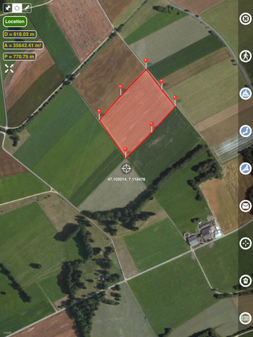 Planimeter - GPS area measure screenshot 10