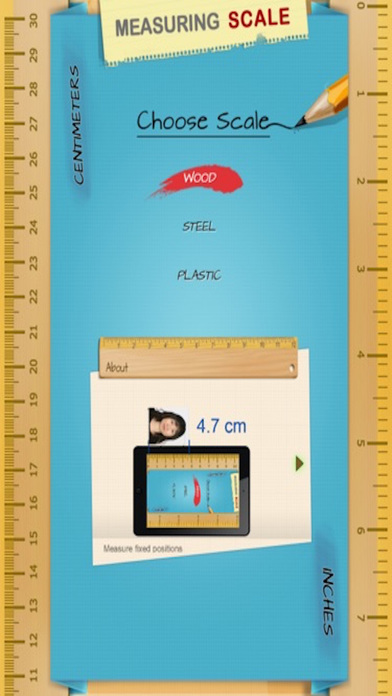 iphone scale app measure scale for measuring on the app 12267