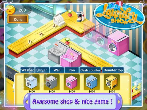 Kids Laundry Shop screenshot 4