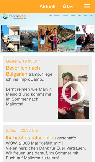 Impro-Hotels screenshot 1