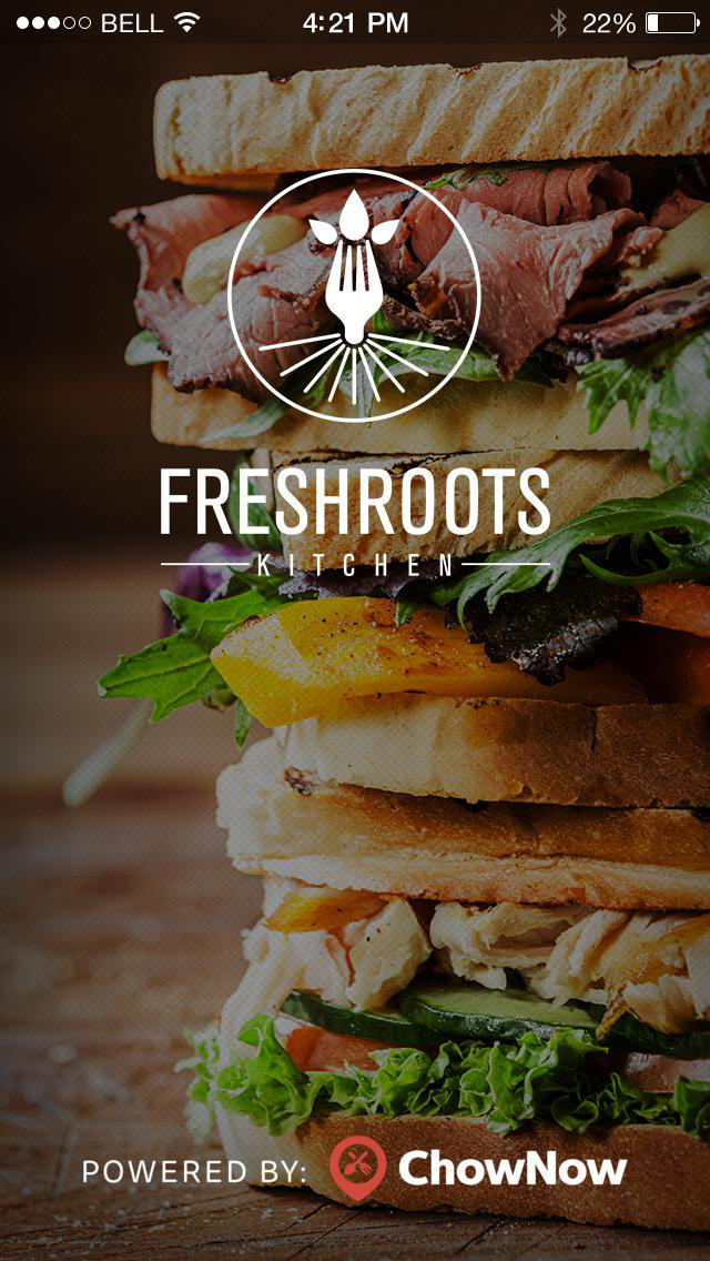 Freshroots Kitchen screenshot 1