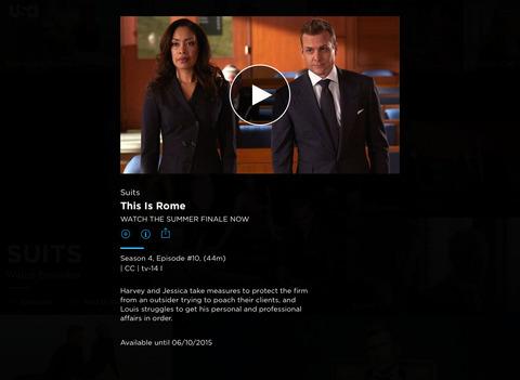 USA Network screenshot 7