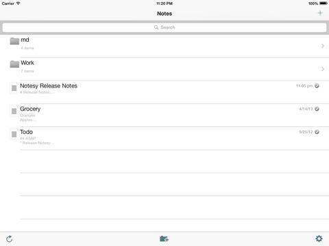 Notesy for Dropbox screenshot 6