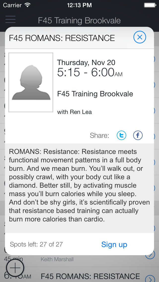 F45 Training Brookvale screenshot 2