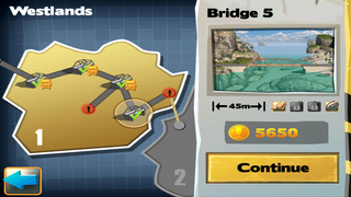 Bridge Constructor FREE screenshot #3