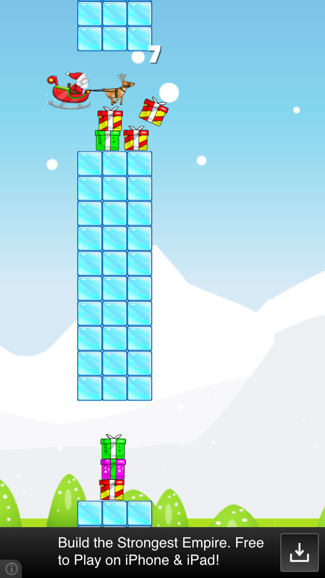 Santa's Sled Race: Free Edition screenshot 1