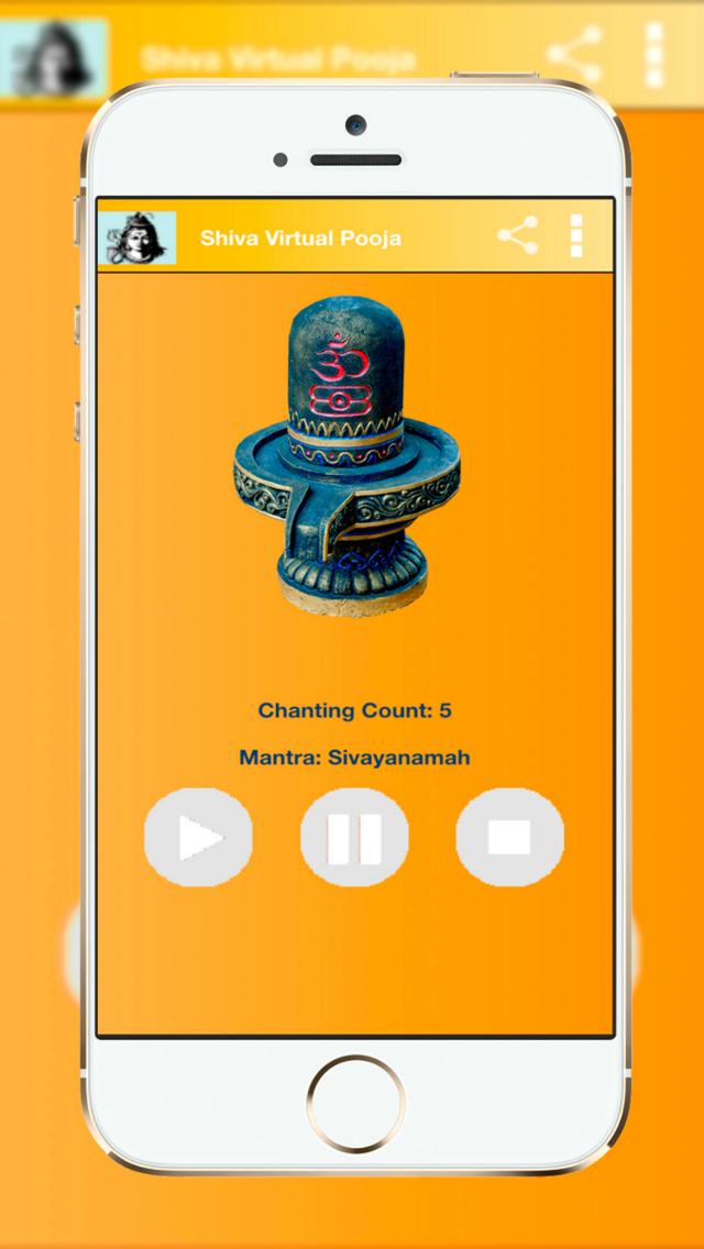 Lord Shiva Virtual Puja - (Om Namah Shivaya) Mantra Meditation screenshot 2