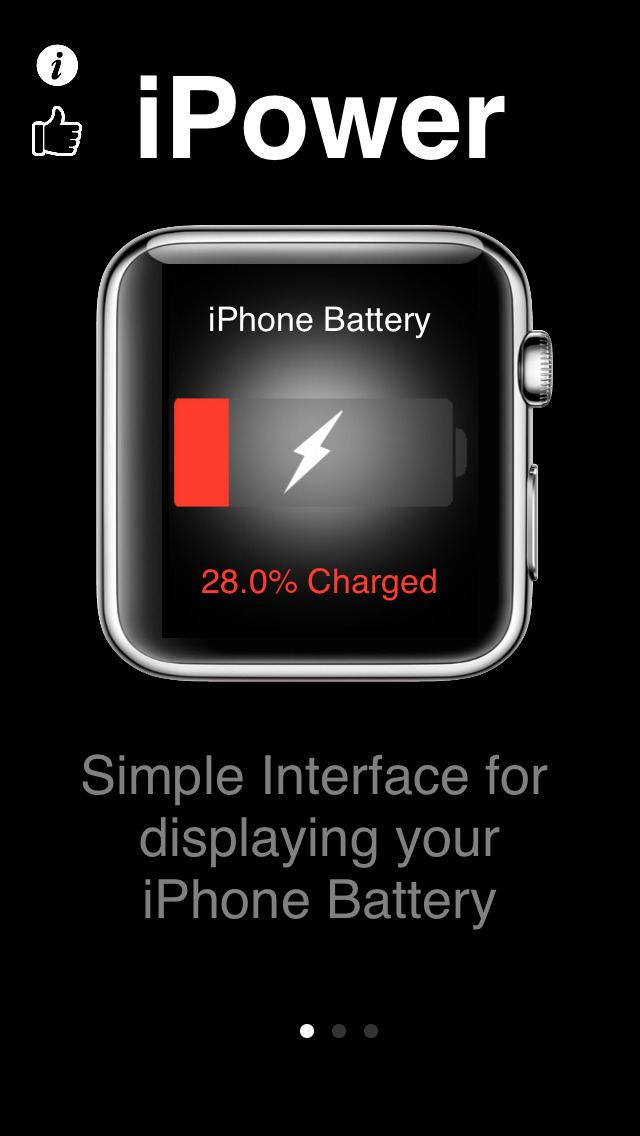 iPower - Glance Battery Usage For Watch screenshot 2