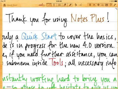 Notes Plus screenshot 10