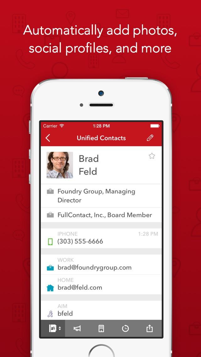 Contacts+ | Address Book screenshot 2