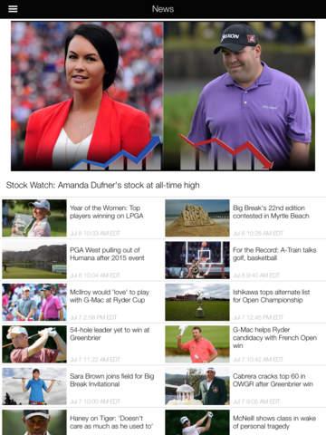 Golf Channel screenshot 7