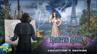 Haunted Manor: Painted Beauties - A Hidden Objects Mystery screenshot 5