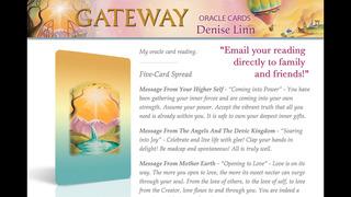 Gateway Oracle Cards - Denise Linn screenshot 3