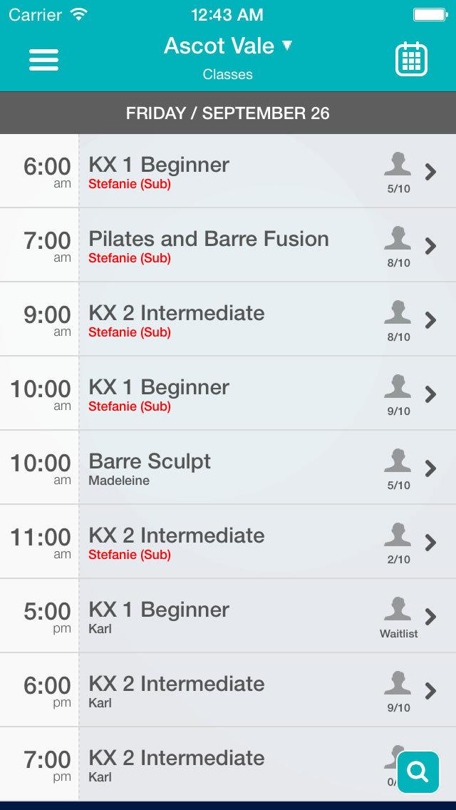 KX Pilates screenshot #3