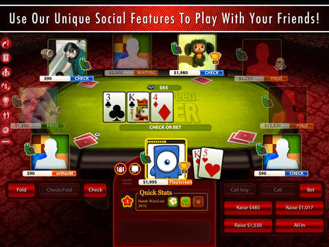 Billionaire Poker HD - Play Texas Hold'em with Friends or Offline. Become a Star. screenshot 5