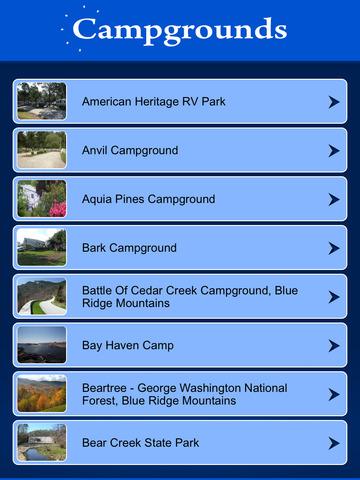 Virginia Campgrounds Guide screenshot 7