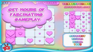Valentine Hearts Collapse Game screenshot 3