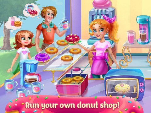 My Sweet Bakery - Delicious Donuts screenshot 7