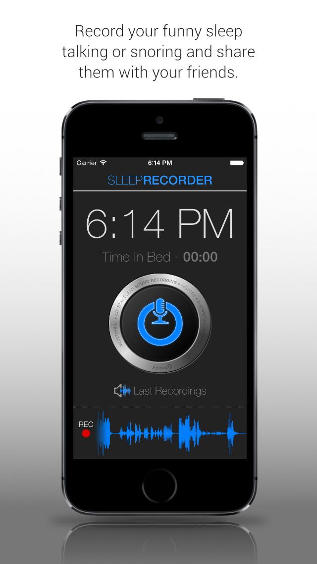 Prime Sleep Recorder Pro screenshot 1