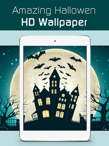 Halloween Wallpaper Sticker HD screenshot 6