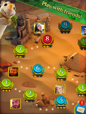 Pyramid Solitaire Saga screenshot 8
