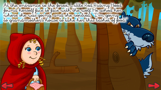 The little red riding hood - Multi-Language book screenshot 5