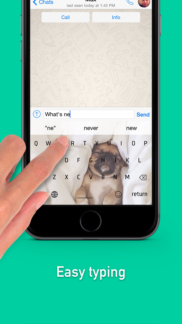 Wallpapers For Keyboard – Personalize Keyboard With Photos From Your Camera Roll screenshot 5