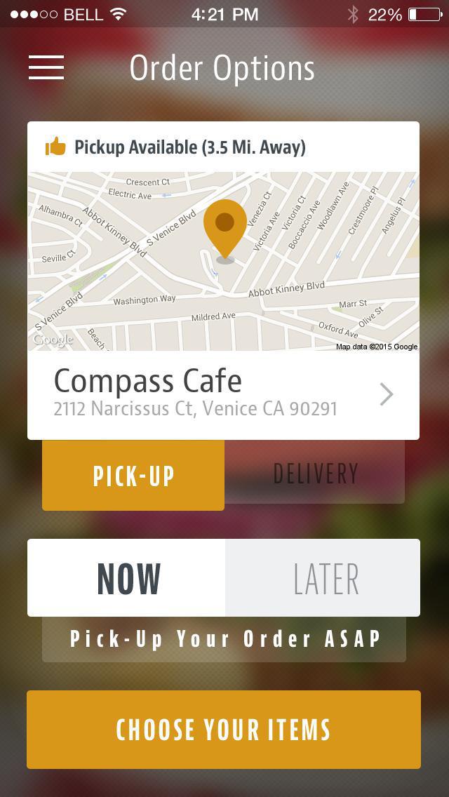 Compass Group Cafe screenshot 2
