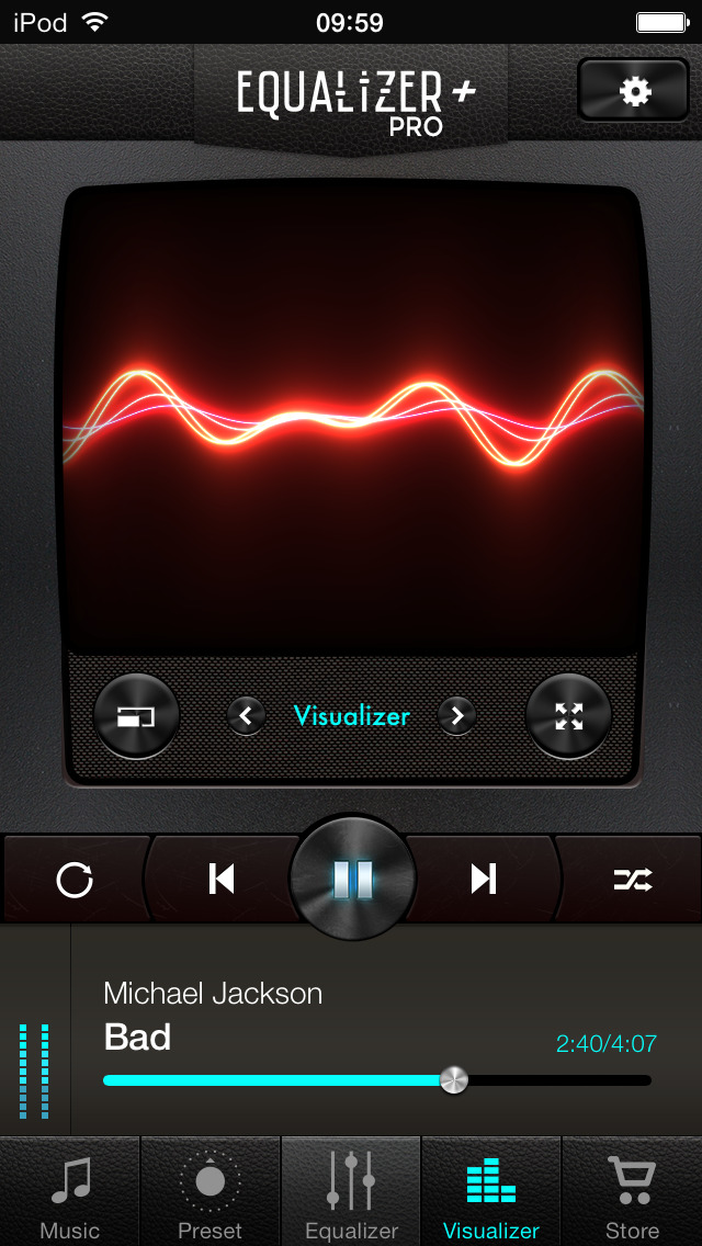 Equalizer+ pro: music player & bass booster screenshot 3