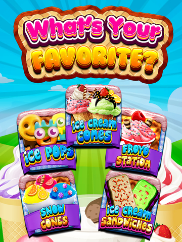 """ A Awesome Sauce Ice Cream Mogul Mania Dessert Maker for Kids! screenshot 7"