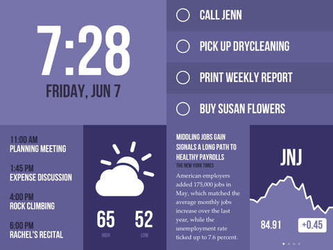 Morning — Weather, To-Do, News screenshot 10