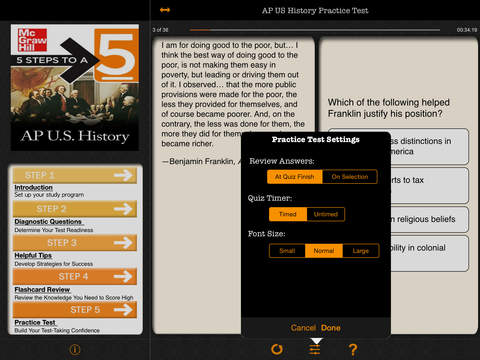 AP U.S. History 5 Steps to a 5 screenshot 7