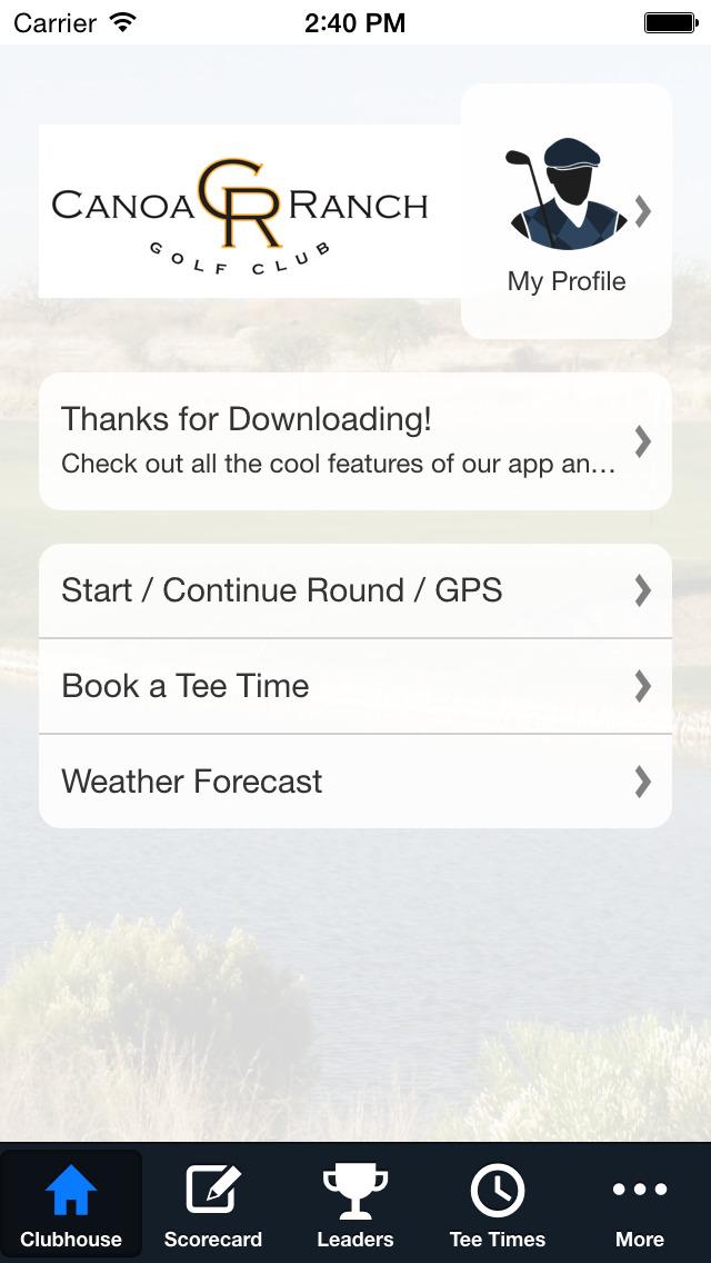 Canoa Ranch Golf Club screenshot 2